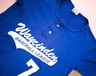 Vintage Kids Waycinder Baseball League T Shirt 5-7 Y