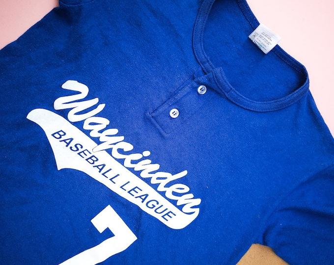 Vintage Kids Waycinder Baseball League T Shirt 5-7 Y