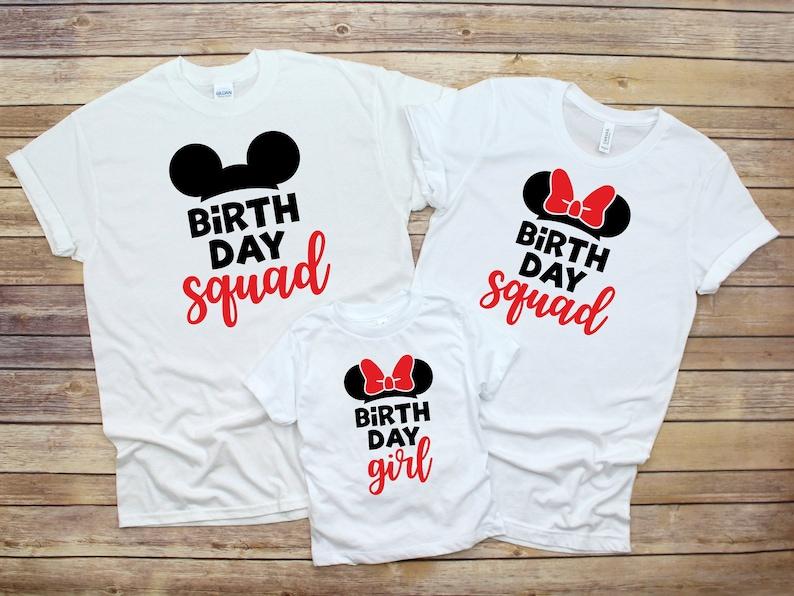 Disney Birthday Girl Shirts Boy