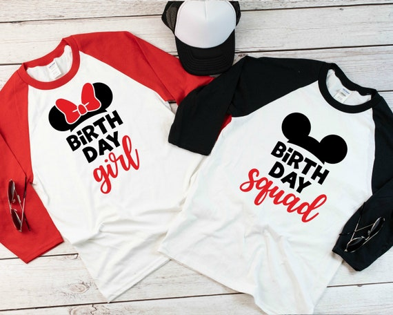 Disney Birthday Girl Shirts Boy