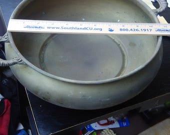 english silver mfg large bowl