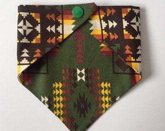 XSmallSmallMediumLargeXLarge Tie-on Dog Bandana in Aboriginal Artwork