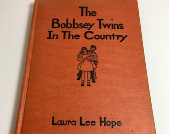 The Bobbsey Twins In The Country, Vintage Children's Book, Children's books, Vintage Books, Teen Books