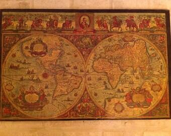 Antique map reproduction