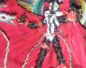 Hand crafted scultpture of Spawn