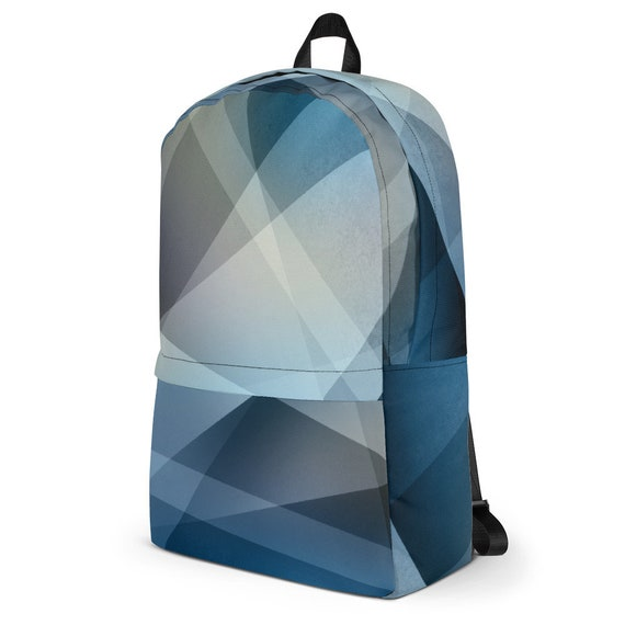 58332944b7a7 blue backpack computer backpack rucksack with abstract