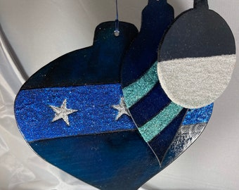 Christmas tree ornaments - Leather