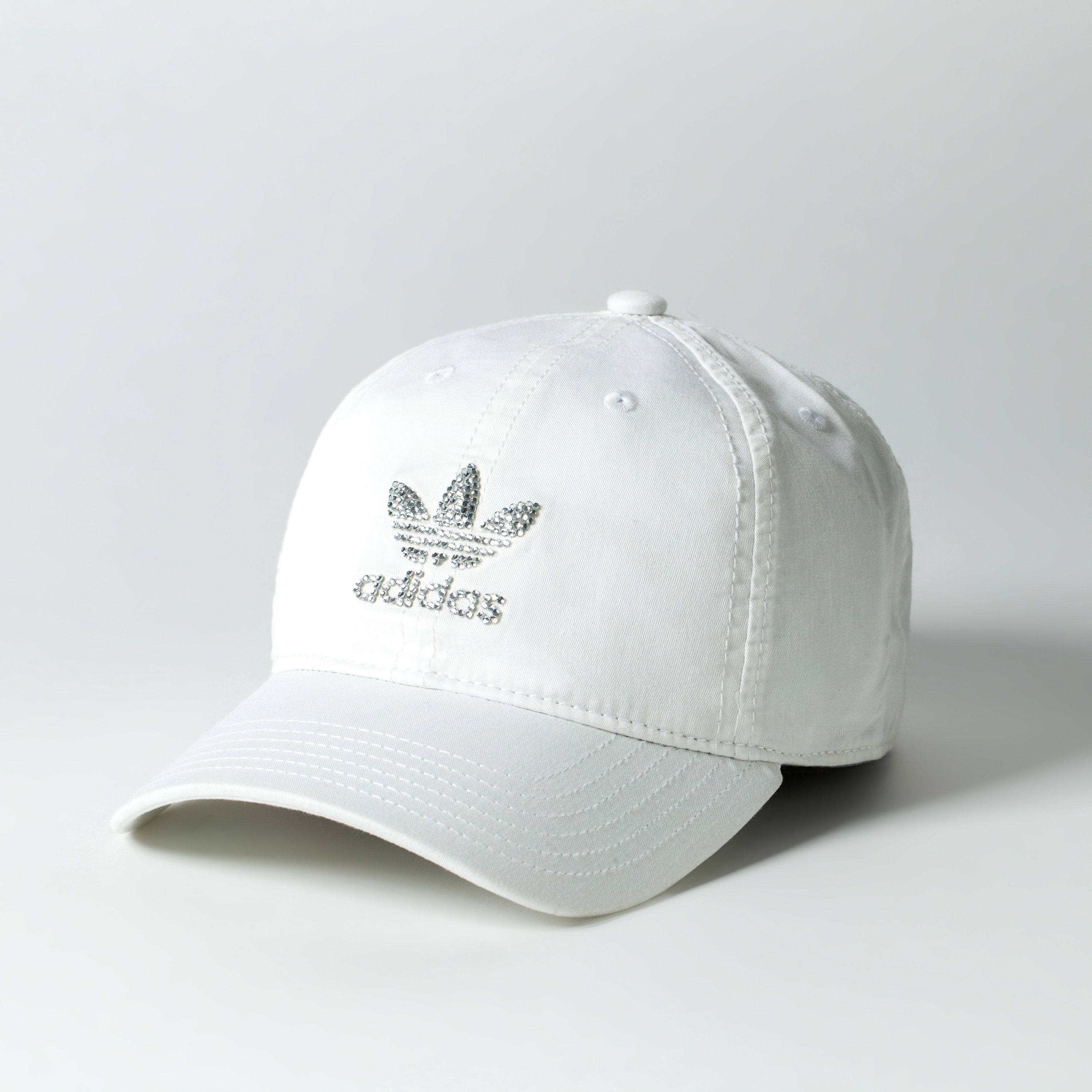 0a6aa14e294 Mother s Day Gift Gift for Mom White Bling Adidas Cap