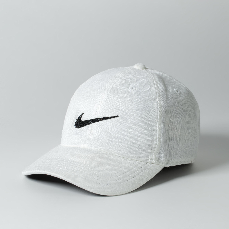 wholesale dealer 0b63a 88bf4 White Nike Baseball Cap Women Baseball Hat Tennis Gift   Etsy