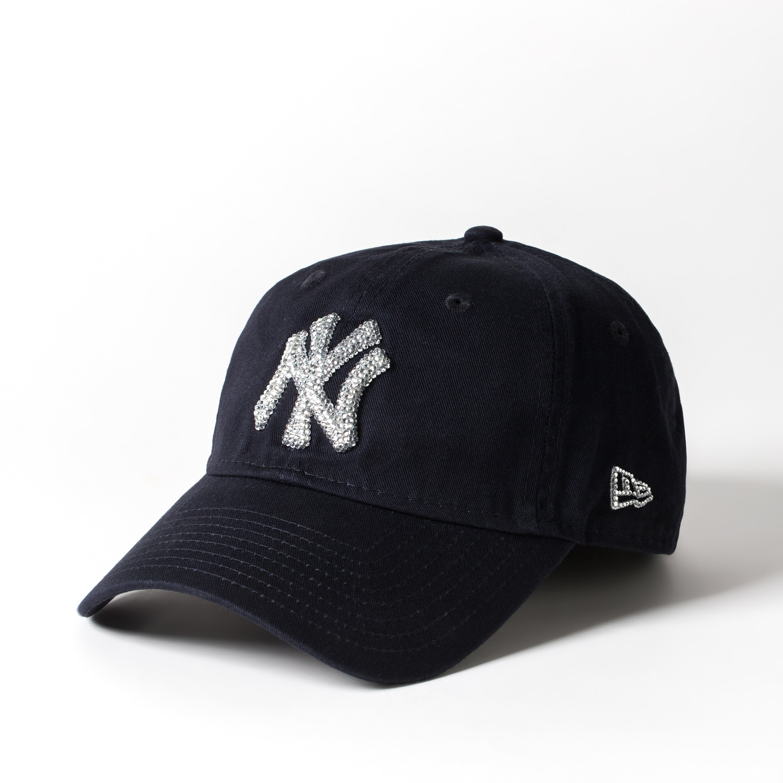 e6bdffa9cd0 Mother s Day Black Swarovski New York Yankees Hat