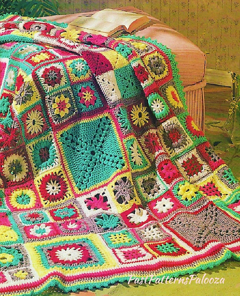 Crochet Afghan Patterns 11 Vintage Afghans to Crochet Patterns