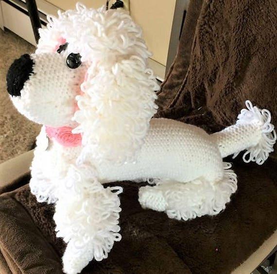 vintage poodle toy dog knitting pattern