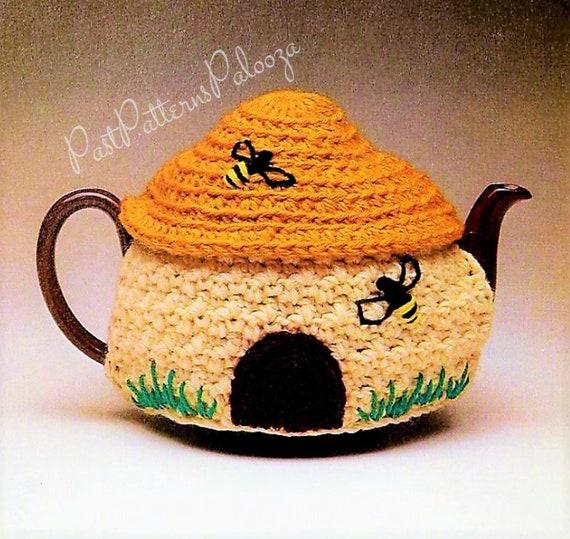 Teapot Cosy Granny Square to fit a Medium Teapot