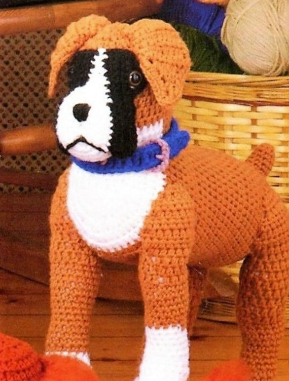 Crochet Amigurumi Boxer Dog Part 2 of 3 DIY Video Tutorial - YouTube | 752x570