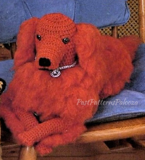 Sales Crochet Dachshund Amigurumi Dachshund Stuffed Animal Dog ... | 630x570
