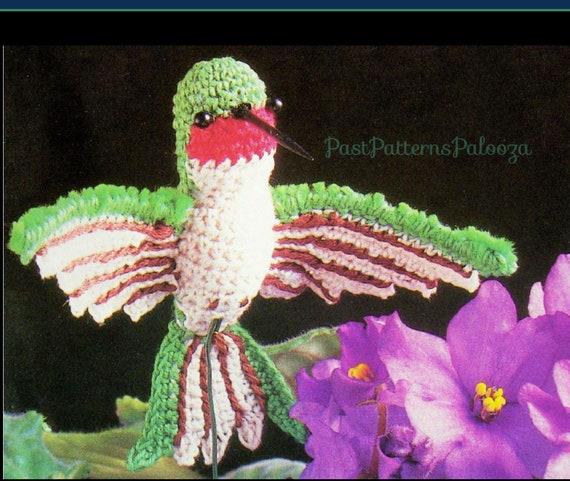 Eringurumi — Hummingbird Pattern   481x570