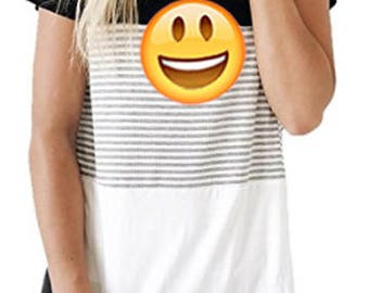 Emoji Smile and #Selfie glue on washable patch kit