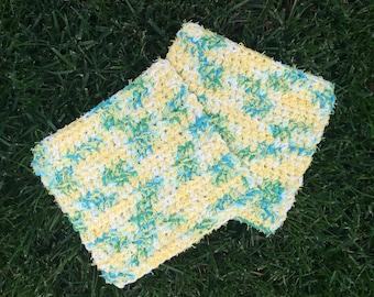Multi Purpose Crocheted Scrubby Dishcloth (set of 2)