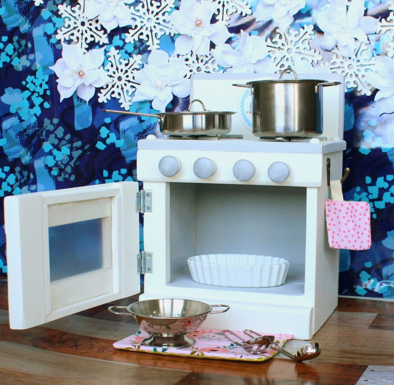 18 Inch Doll Kitchen Stove American Girl Oven 18 Inch Doll Etsy