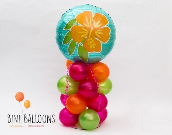 Tropical Party Decoration Hawaiian Birthday Decor Luau Balloon