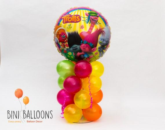 Trolls Balloon Centerpiece