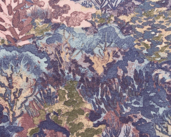 Vampire Vintage Viscose Jersey Fabric Pattern