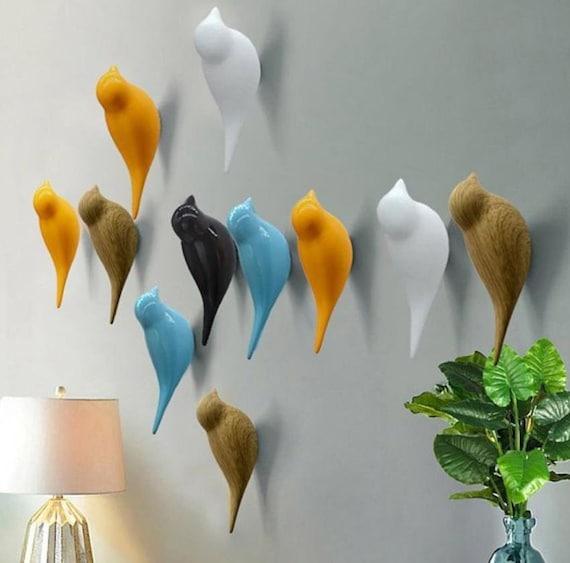 Vogel Haken Dekorative Wand Haken Mantel Haken Kleiderbügel Etsy
