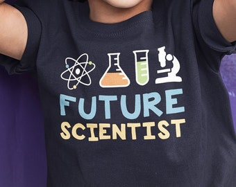 b7979ea6a Scientist Kids Shirt. Science Joke Shirt. Science Kids Shirt. Funny Mini  Scientist Tee Boys/Girls Youth T-Shirt.