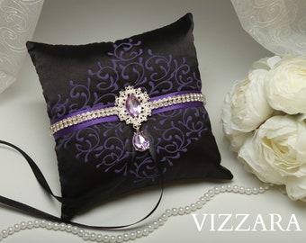 Ring Bearer Pillows Black Weddings Cheap Ring Bearer Pillow Etsy