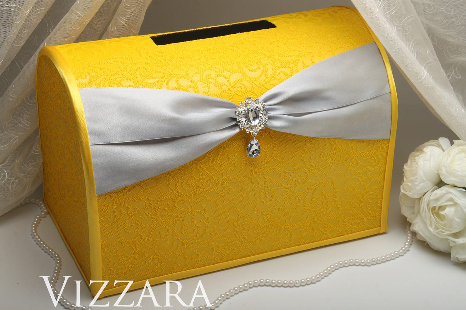 Wedding Gift Boxes: Wedding Boxes Yellow And Grey Wedding Wedding Gift Boxes