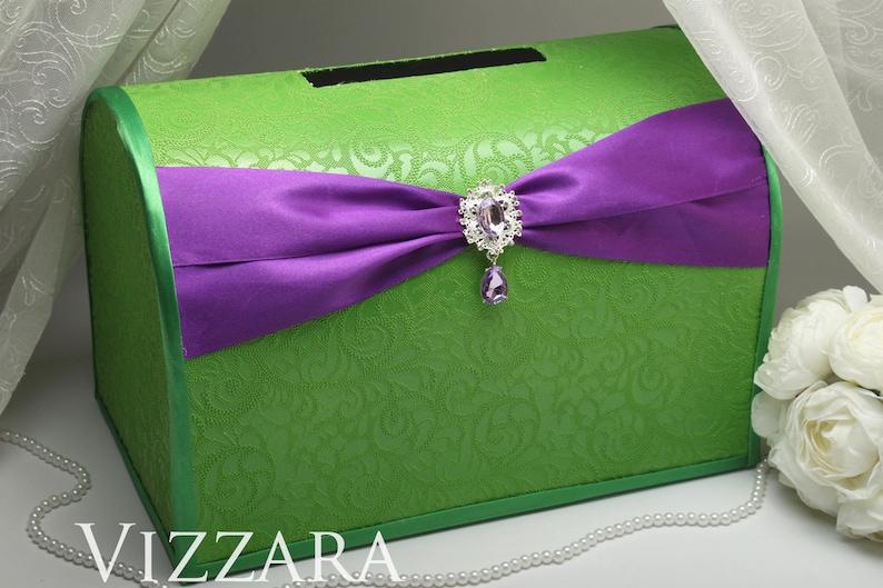 Purple And Green Wedding.Wedding Envelope Box Purple And Green Wedding Envelope Box Wedding Green And Purple Wedding Wedding Box For Envelopes Green Wedding Colors