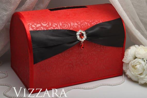 wedding envelope box red weddings envelope box wedding red and etsy