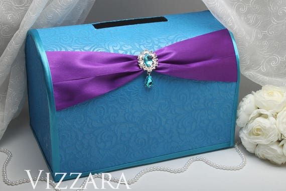 Wedding Card Holder Purple And Turquoise Wedding Wedding Card Holder Ideas Turquoise And Purple Wedding Card Holder Turquoise Wedding Ideas