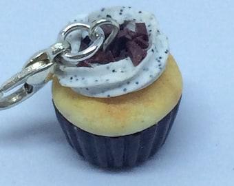 Mini Chocolate Cupcake charms