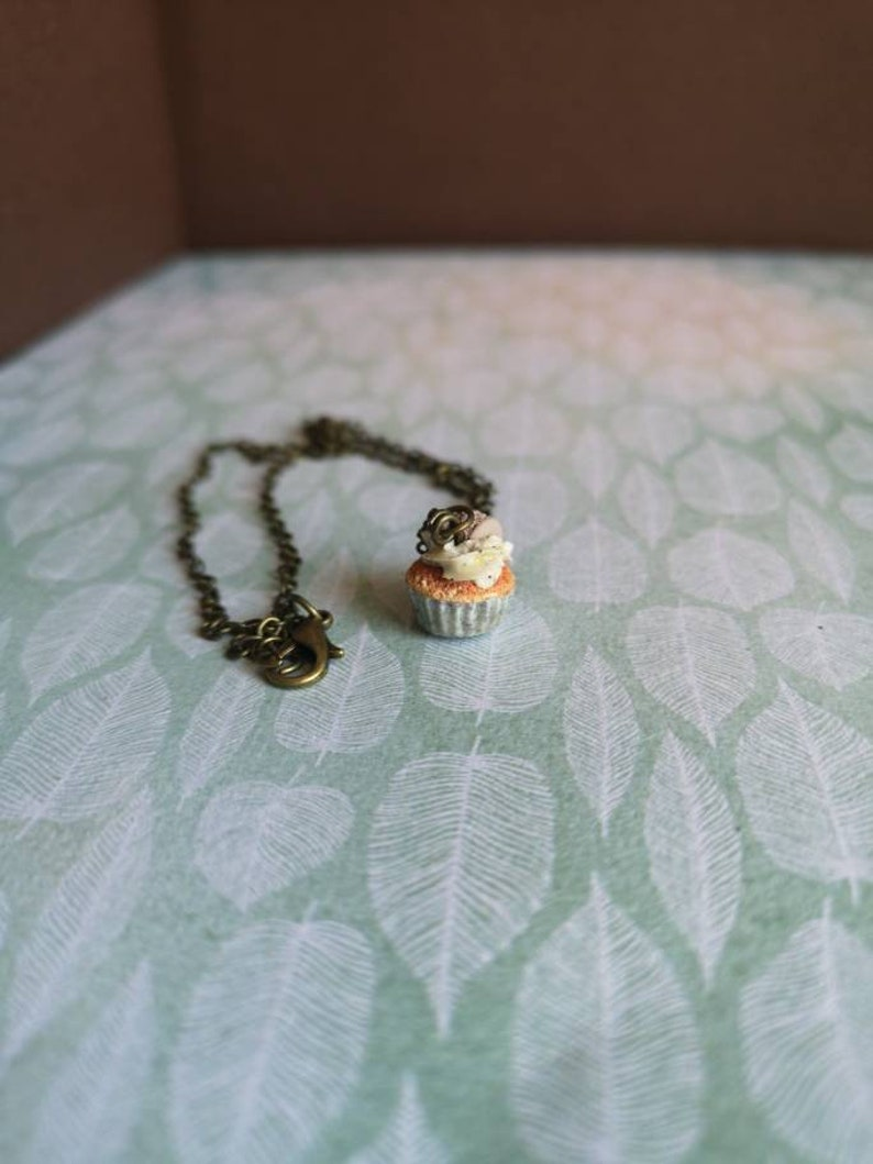 Collar micro cupcake granite taupe macaroon