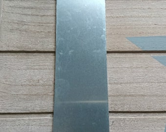 1 Bookmark for engraving. Aluminum. Suitable for engraving metal stamp 152x38mm.
