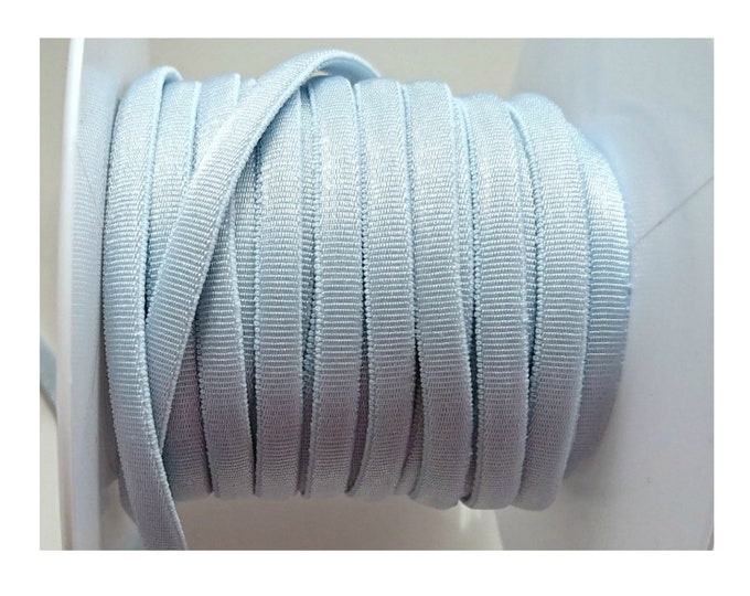 1 meter of light blue 4.5mm elastic tubular