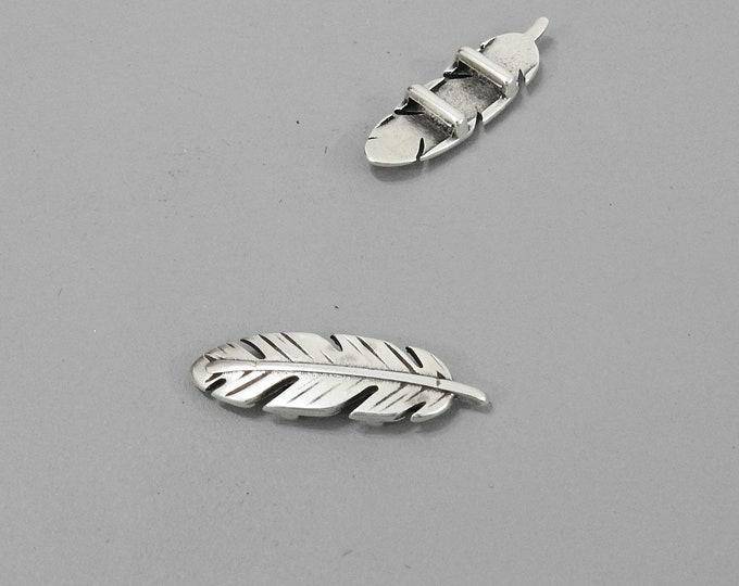 10mm slider. feather. DIY bracelet