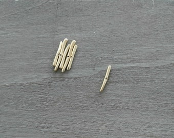 long adornment pass 0.8mm. 27mm long 3mm wide