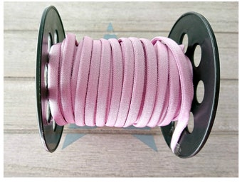 1 meter elastic tube light elastic lilac 4.5mm.