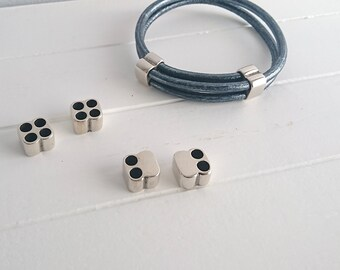 Terminal 4 holes. 5mm. 1 unit. zamak