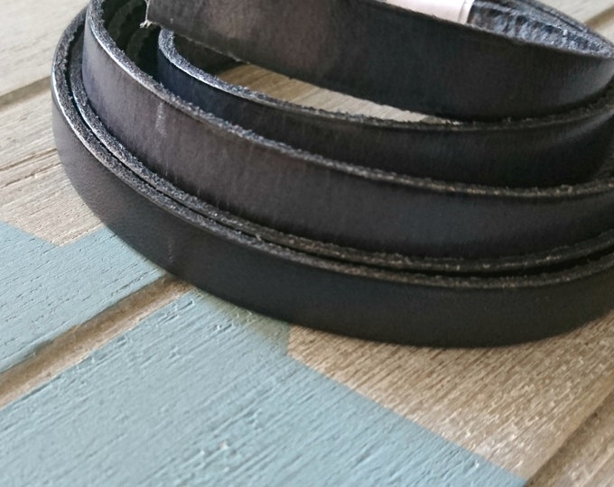 Gray leather. 10x2mm sale for 1 meter. High quality European leather