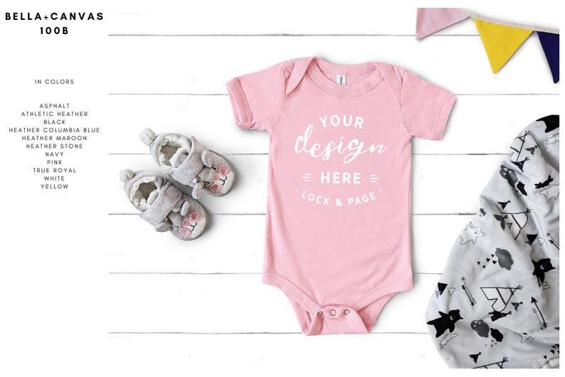 3c39f03de Baby Toddler Bella Canvas Mockup Mega Bundle Kids Boy Girl   Etsy