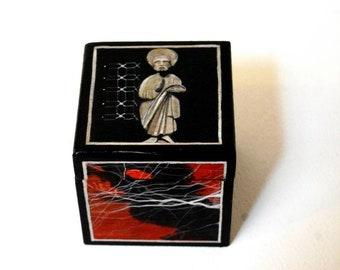 Mini handpainted box