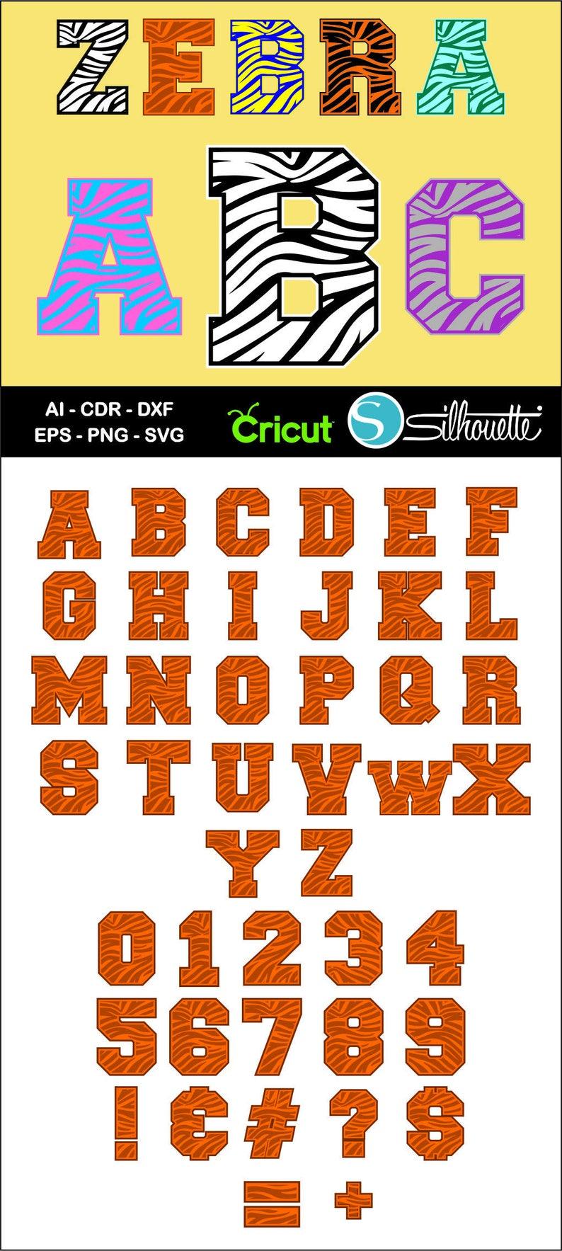 Buy 2 get 1 free, Zebra Alphabet font, Ai, CDR, Eps, SVG, Dxf, Png, Zebra  Letters, Zebra svg, Cricut, Silhouette Studio, Zebra font svg