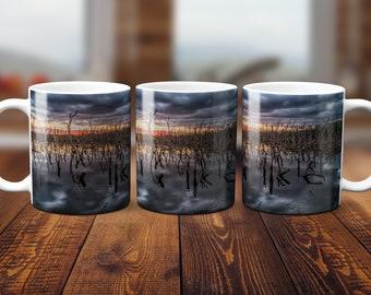 Wetlands Sunset Mug