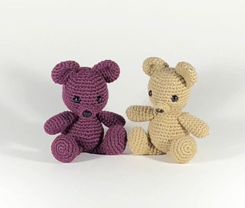 Amigurumi Tiny Bear Crochet Free Pattern - Crochet & Knitting | 677x794