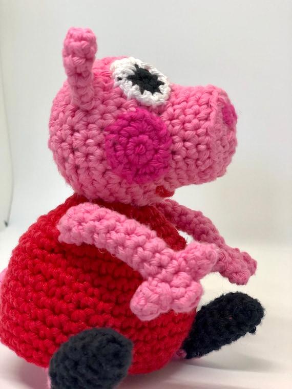 PEPPA PIG Amigurumi Pattern, Peppa Pig Patrón Amigurumi in 2020 ... | 760x570