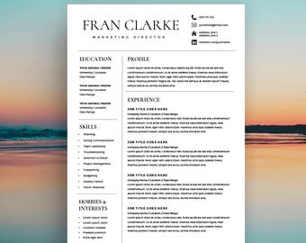 modern resumes creative resumes by successfulresumes on etsy