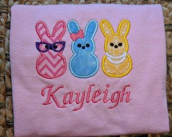 Easter Bunny Peep Girl's shirt